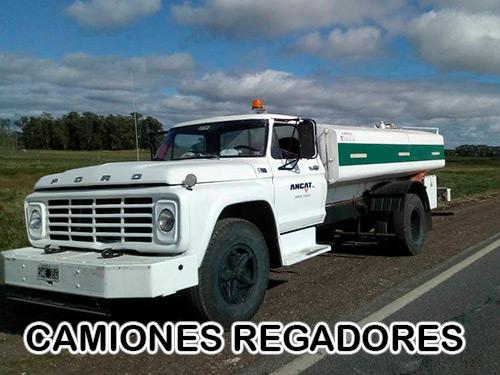 CAMIONES-REGADORES